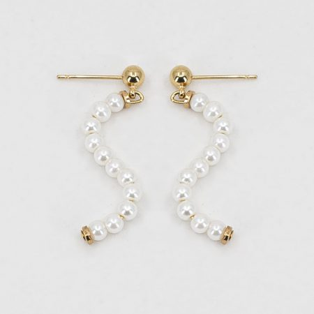 Ariel Small Wave Earrings
