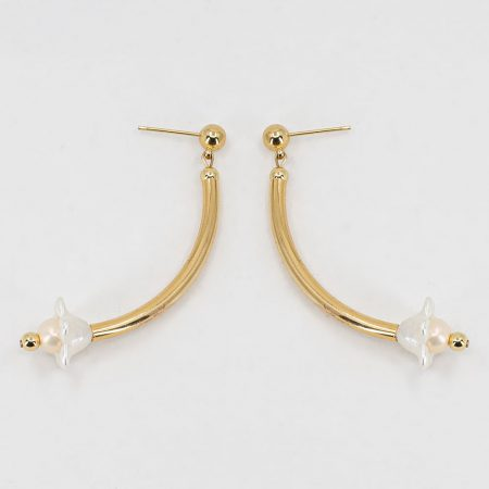 Cott Gold Flower Earrings