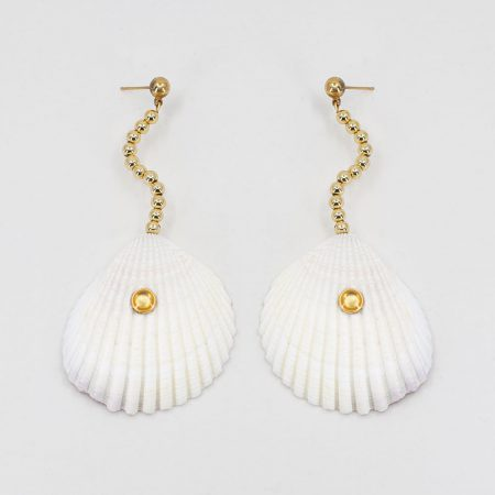 Shellfie Ariel Gold Earrings