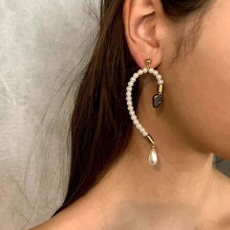Ariel Bubble Glass Lux Earrings