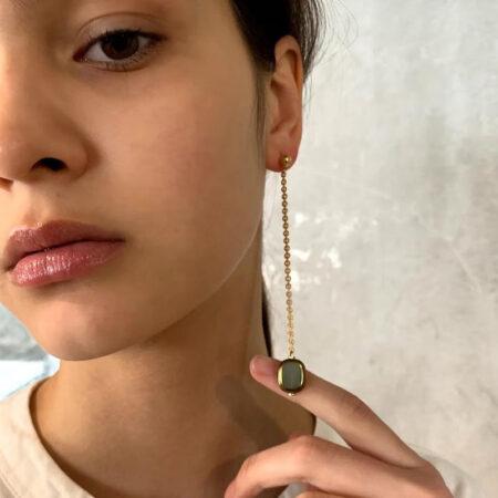 Ariel Deco Drop Earrings