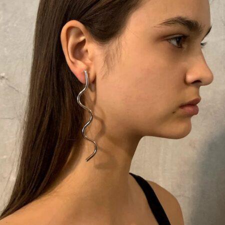 Fleurit Bud Earrings Long