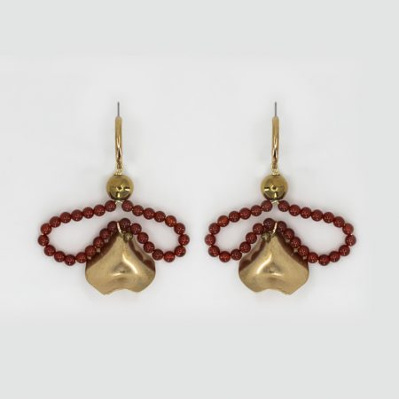 Bee Matisse Red Earrings