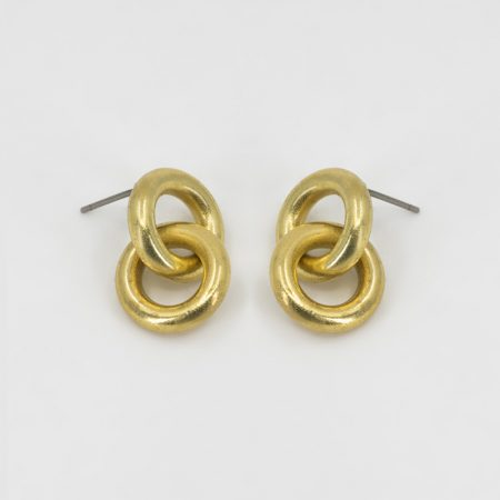 Bee Two Ring Earrings