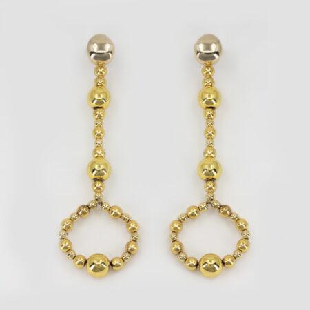 Bee L Key Earrings