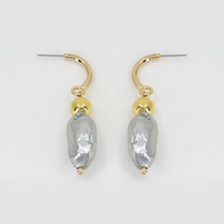 Donna Lana Silver Earrings