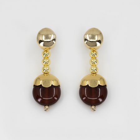 Donna Rooi Earrings