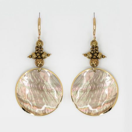 Nacro Gold Grand Detail Earrings