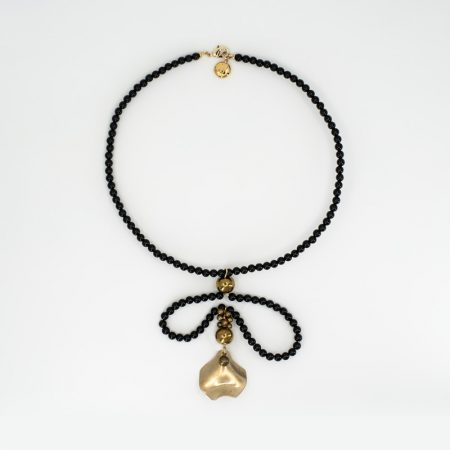 Bee Onyx Necklace