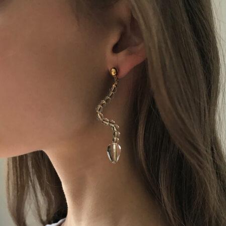 Ariel Clear Earrings