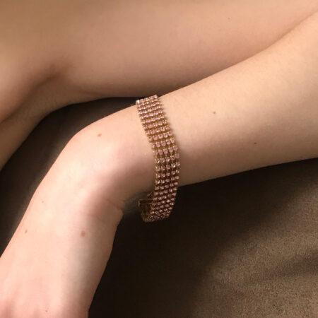 Bombshell Pink Bracelet