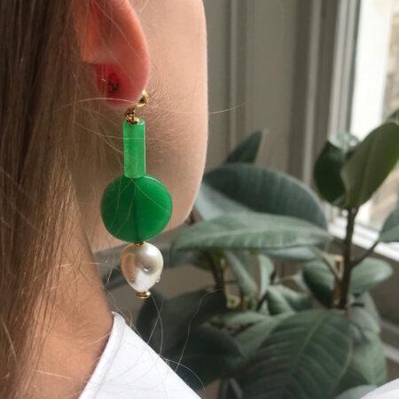 Maggie Mini Round Earrings