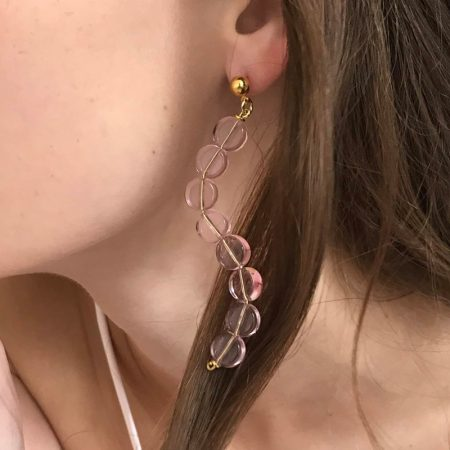 Reve Wave Short Earrings