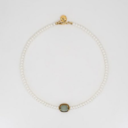 Ariel Glass Pendant Necklace
