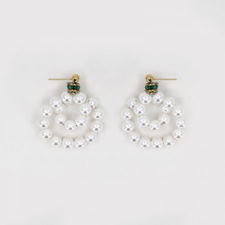 Donna Coile Malachite Earrings