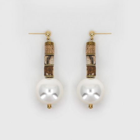 Donna Dessert Pearl Earrings