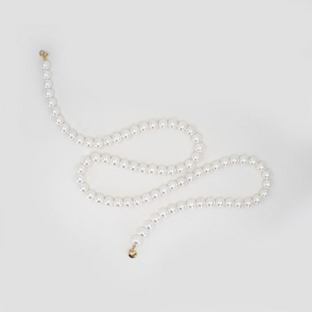 Donna Round Pearl Double Necklace