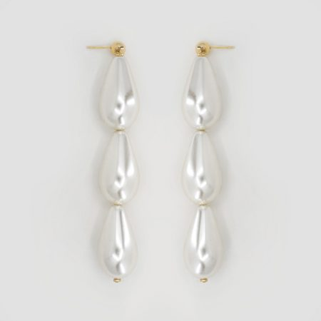 Donna Three Drop Earrings