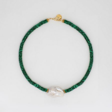 Lana Malachite Necklace