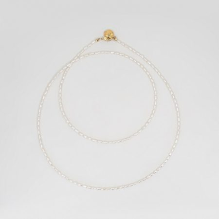 Lana Rice Pearl Double Necklace