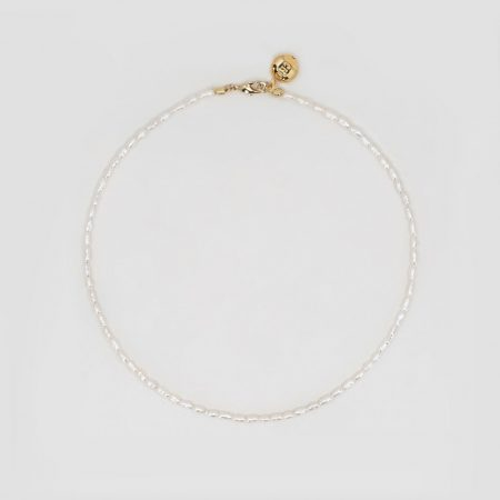 Lana Rice Pearl Necklace