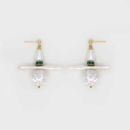 Lana Trio Pearl Earrings