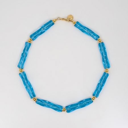Reve Necklace Blue