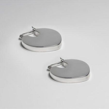 Pick Earrings Silver