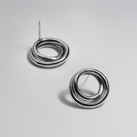 Undeux Earring Silver