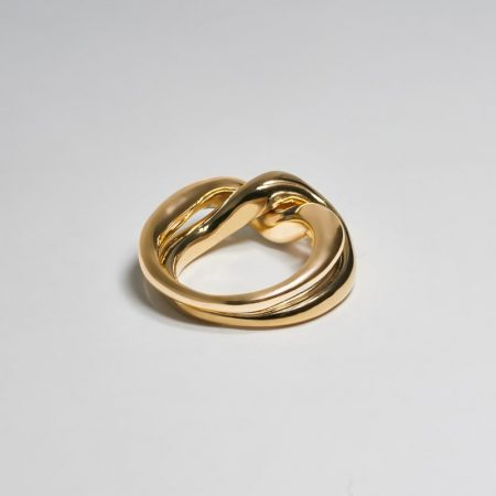 Undeux Twine Ring Gold
