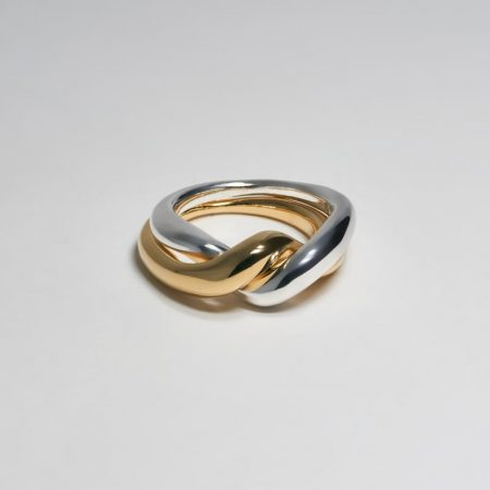 Undeux Twine Ring Gold Silver