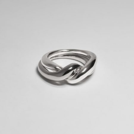 Undeux Twine Ring Silver