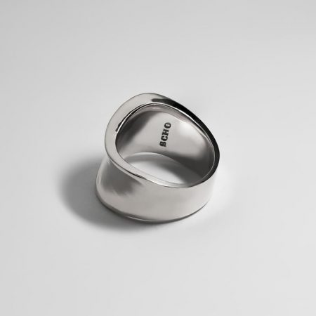 Wave Crush Ring Silver