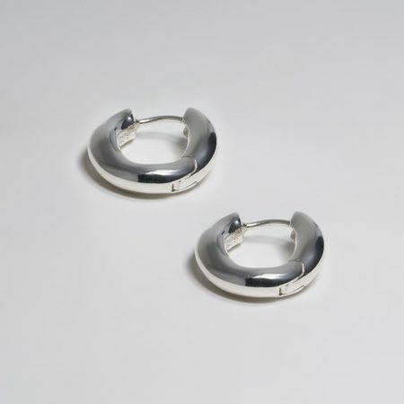 Wave Oval Ring Earrings