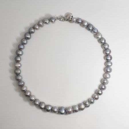 Lana Silver Pearl Necklace