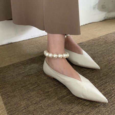 Donna Silver Anklet