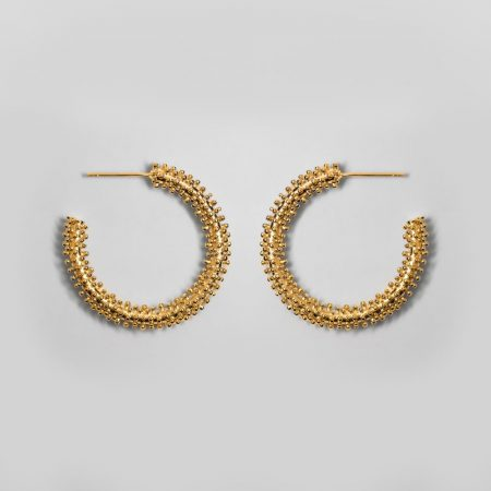 Buzz Earrings Gold