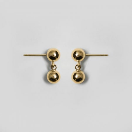 Donna Drop Earrings Gold