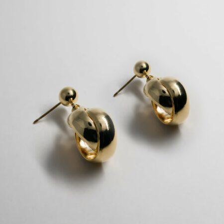 Kelly Round Chain Earrings