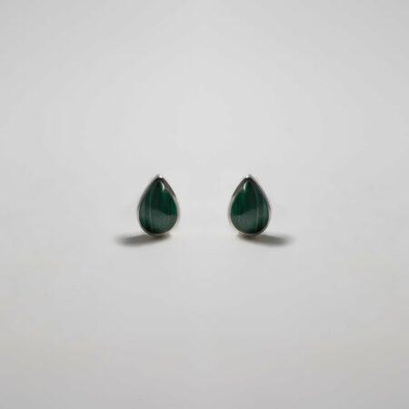 Lou Malachite Earrings