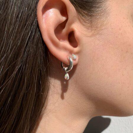 Lou Opal Classic Earrings
