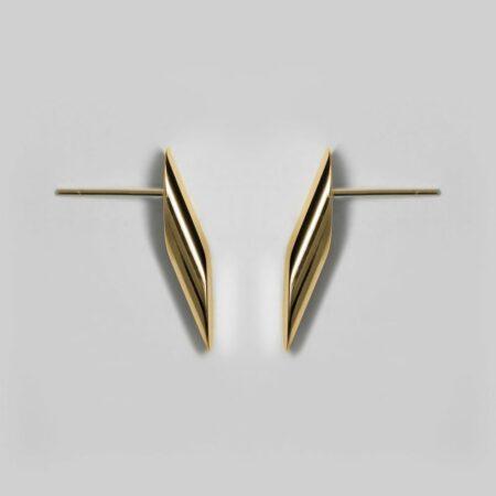 Trinity Gold Earrings