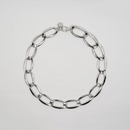 Lola Chain Silver Necklace
