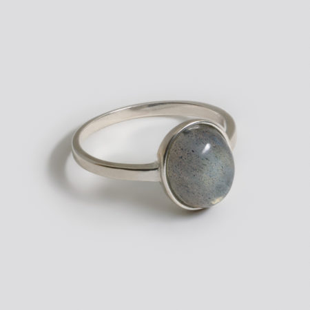 Lou Oval Gris Ring