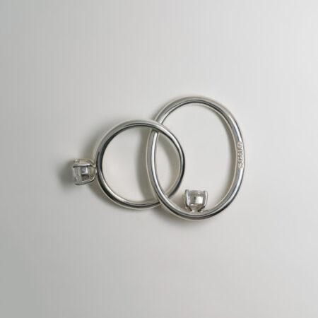 Natalie Deux Crystal Ring